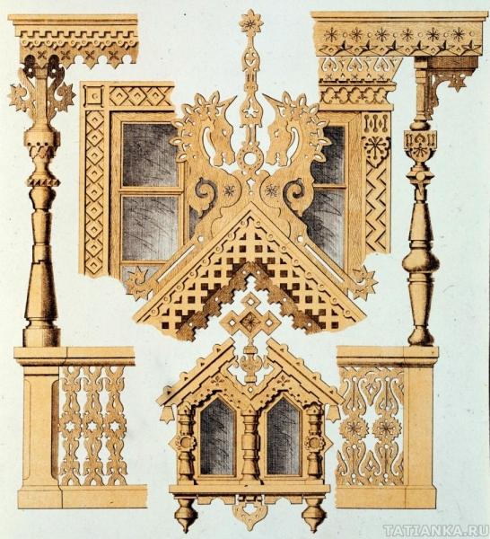 Деревянное зодчество: журнал Мотивы русской архитектуры, часть 1. Загородные дома