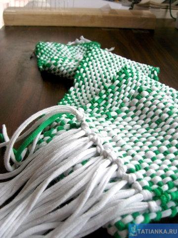 Мастер-класс: шарф из подручных материалов