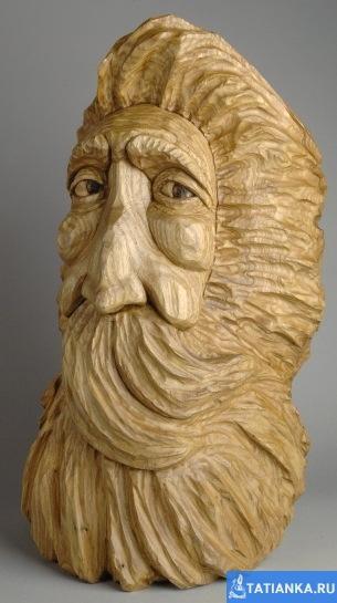 Новогодняя подборка: деревянные Санта Клаусы