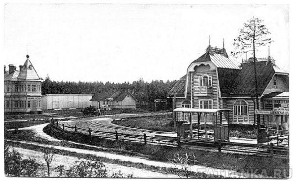 Памятники деревянного зодчества: Буфет и гостиница Кукушкина под Санкт-Петербургом